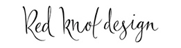 Red Knot Design Logo